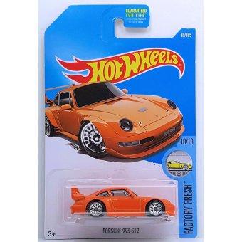 Xe mô hình tỉ lệ 1:64 Hot Wheels 2017 Porsche 993 GT2 - Cam