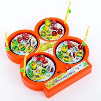 Bộ đồ chơi câu cá 4 hồ