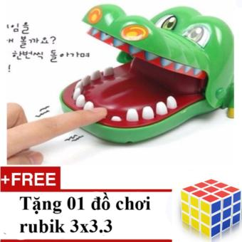 Mua Bộ trò chơi khám răng cá sấu + Tặng 01 đồ chơi Rubik 3 x 3 x 3 giá tốt nhất