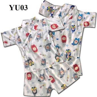 Bộ Yukata Tole cao cấp cho bé YU03 Mihababy