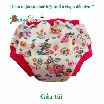 Tã vải quần short ngày BabyCute size L (14-24kg)