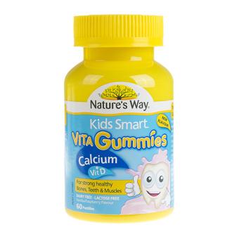 Kẹo Vita gummies bổ sung canxi và vitamin D cho bé 60 viên
