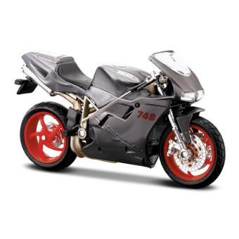 Đồ chơi mô hình Maisto xe mô tô tỉ lệ 1:18 Ducati 748