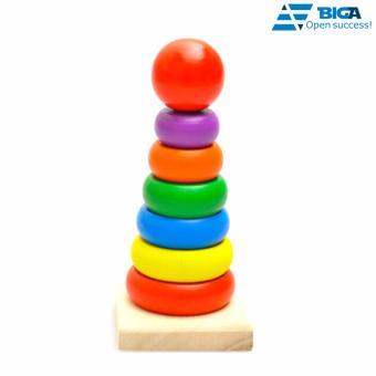 Đồ chơi xếp tháp nhiều màu US04517