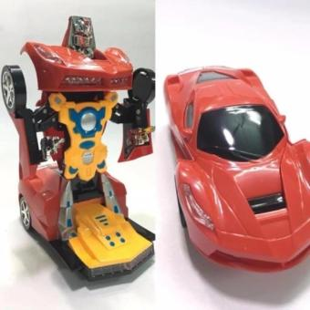 Xe Ô tô biến hình thành Robot Cao cấp chạy pin T2-44