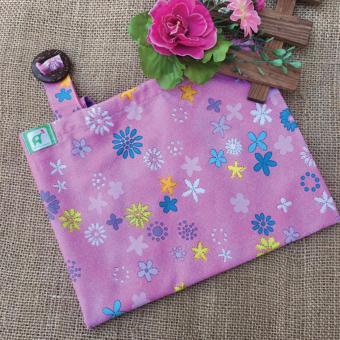 Khăn choàng cho bé tuti hồng hoa nhiều màu vải cotton Mỹ
