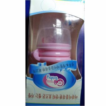Túi ăn dặm Silicon chống hóc cho bé màu hồng Hoài Anh