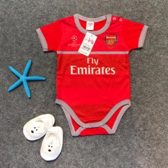Bộ Jumpsuit Sơ Sinh Arsenal – Đỏ
