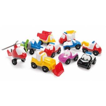 Funcar Dantoy xe xúc cát ngộ nghĩnh mini (Foklift Truck)