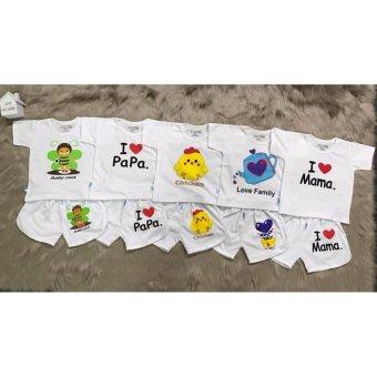 Bộ áo tay ngắn quần đùi thể thao cho bé (3-24 tháng)