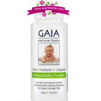 Phấn rôm hữu cơ Gaia for Baby 100g