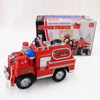 Đồ chơi xe cứu hỏa chạy pin