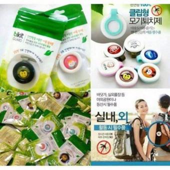 Bộ 5 kẹp chống muỗi hương tinh dầu Bikit Guard Hàn Quốc