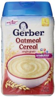 Bột ăn dặm Yến Mạch Gerber Cereal 227 gr