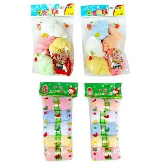 Bộ 10 đôi tất giấy lưới + 10 đôi tất giấy mịn cho bé - Phú Đạt(Nhiều màu)