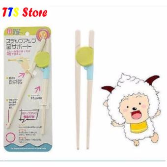 Đũa nhựa tập ăn cho trẻ TTS Store