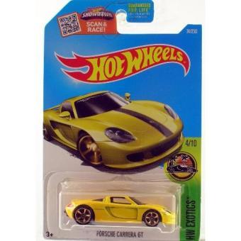 Xe Mô hình 1:64 Hot Wheels 2016 Porsche Carrera GT