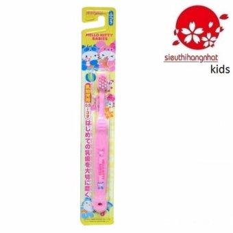 Bàn chải đánh răng Hello Kitty B-S10 Cho Trẻ Từ 0,5-3 tuổi (Hồng)