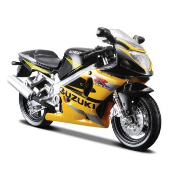Đồ chơi mô hình Maisto xe mô tô tỉ lệ 1:18 Suzuki GSX-R600