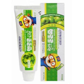 Kem đánh răng trẻ em pororo hương táo Hàn Quốc 90g - Hàng Chính Hãng