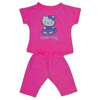 Bộ quần áo bé gái Shopconcuame (Hồng đậm)