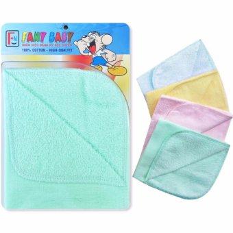 Bộ 8 cái khăn sữa 2 mặt Fany Baby cho bé 100% cotton