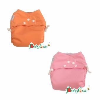 Combo 2 bộ tã vải đêm BabyCute size M (8-16kg)
