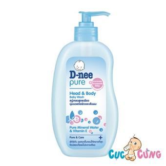 Sữa tắm chứa sữa trẻ em D-nee 380ml
