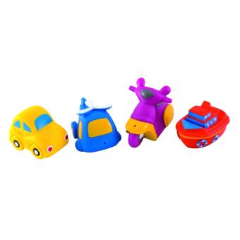 Đồ chơi bồn tắm hình phương tiện giao thông Canpol Babies
