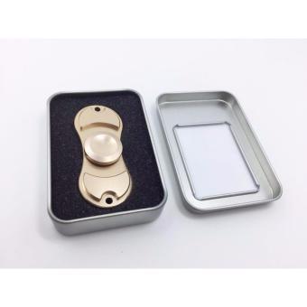 Con quay Hand Spinner Fidget 2 cánh (7x3x1 Cm), hộp đựng nhôm sang trọng