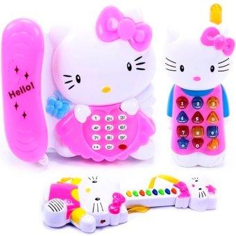 Bộ đồ chơi điện thoại và đàn TRK