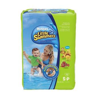 Tã quần dành cho bé đi bơi Huggies Little Summers S12