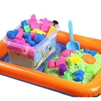 Bộ đồ chơi cát nặn vi sinh 5+