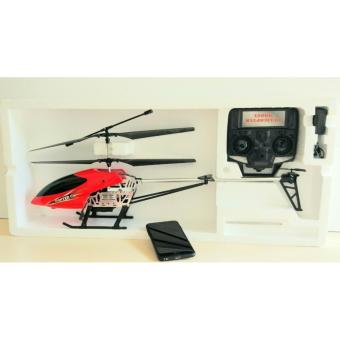 Máy bay trực thăng điều khiển từ xa ( SIZE lớn) đỏ
