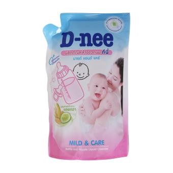 Nước rửa bình sữa và rau củ quả D-NEE 600ML