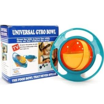 Dụng cụ đựng thức ăn thông minh 360 độ, chống lật đổ cho bé