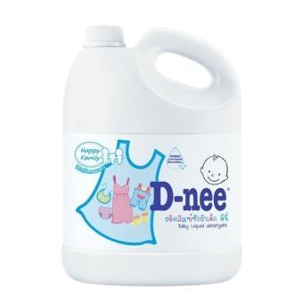 Dung dịch giặt quần áo cho bé D-nee 3L(Hồng)