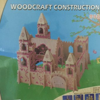 Đồ chơi ghép hình 3D sáng tạo bằng gỗ chi tiết cho bé