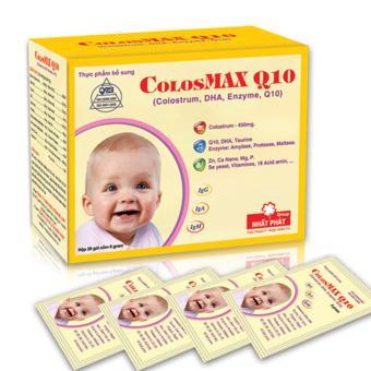 Cốm Bổ ColosMAX Q10 Hộp 20 gói x 6 gram
