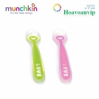 Bộ 2 Thìa Silicone Munchkin MK27106