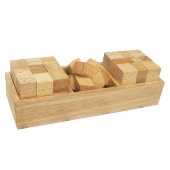 Bộ 3 khối xếp hình Winwintoys 62451