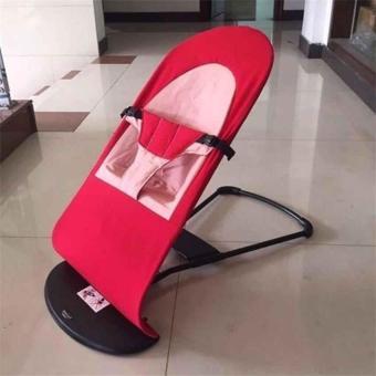 Ghế nhún, rung đa năng cho bé mẫu mới (Đỏ)