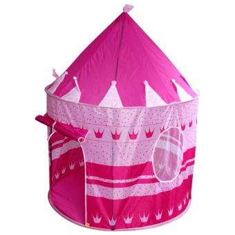 Lều chơi cho bé hình lâu đài HD HDM243 (Hồng)