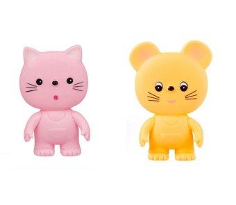 Bộ Chút chít mèo hồng Toyroyal 1031 và Chút chít chuột con Toyroyal 1032