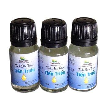 Bộ 3 sản phẩm Tinh dầu tràm Tiến Triều 10ml