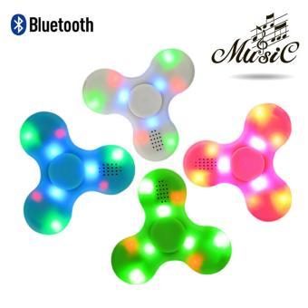 Con quay cao cấp Spiner Bluetooth Led phát sáng kiêm loa phát nhạc 2 in 1 kết nối điện thoại, máy tính bảng (Màu ngẫu nhiên)