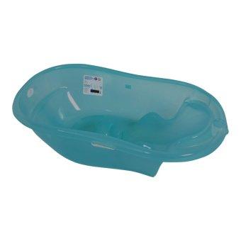 Babybum - Chậu tắm hình ghế nằm cao cấp trơn (Xanh dương)