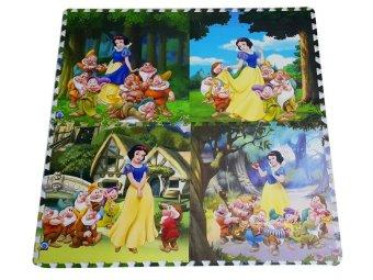 Thảm xốp trẻ em 4 miếng 60x60cm hoạt hình 2