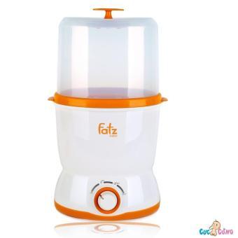 Máy hâm sữa, tiệt trùng đa năng 2 bình cổ rộng Fatzbaby FB3019SL
