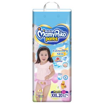 Tã quần Mamy Poko XXL20 (Girl)